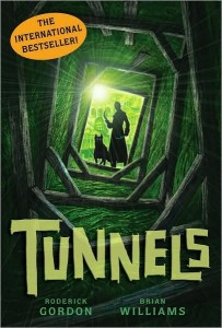 Tunnels - cover for the amazing book by Roderick Gordon and Brian Williams